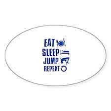 Eat Sleep Jump Decal