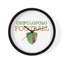 Zambia Football Wall Clock