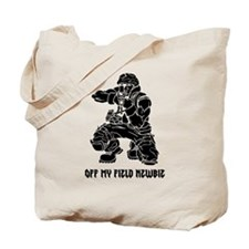 Off My Field Newbie Tote Bag