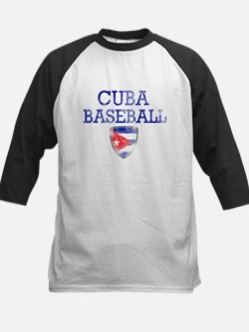 Cuba Baseball Tee