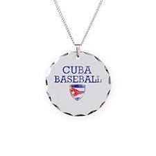 Cuba Baseball Necklace