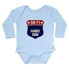 SR-71 Long Sleeve Infant Bodysuit