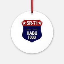 SR-71 Ornament (Round)