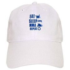 Eat Sleep MMA Cap
