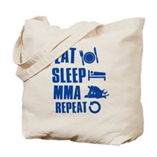 Eat Sleep MMA Tote Bag