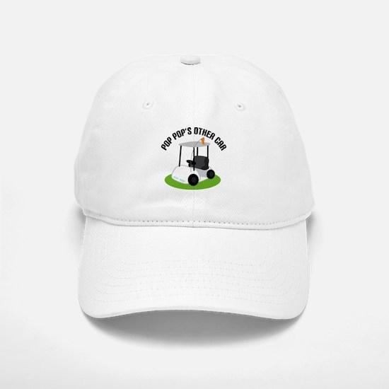 PopPop Golf Cart Baseball Baseball Cap