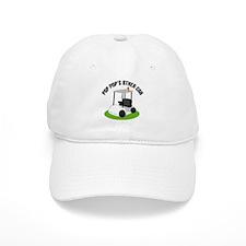 PopPop Golf Cart Baseball Cap