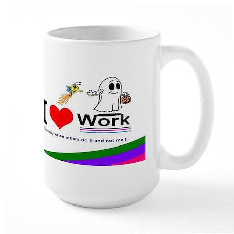 I Love Work SPECIAL Large Mug