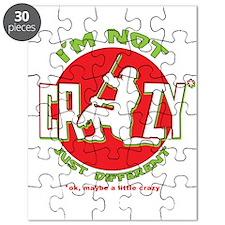 Im Not Crazy (lacrosse) Puzzle