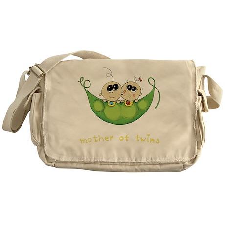 Mother of Twins, Boy/Girl Messenger Bag