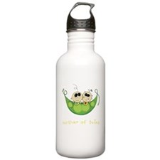 Mother of Twins, Boy/Girl Water Bottle