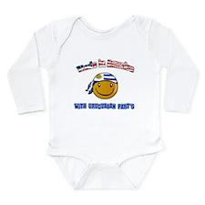 Cute Uruguayan designs Long Sleeve Infant Bodysuit