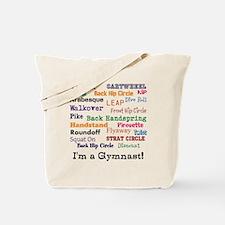 I'm a gymnast bag Tote Bag