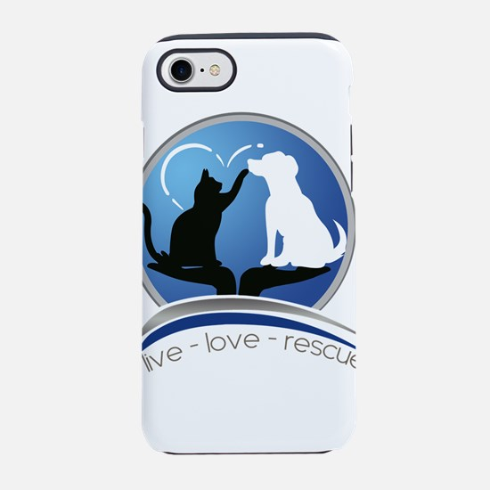 live love rescue iPhone 7 Tough Case