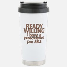 Unique Ready and able Travel Mug