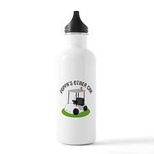 Poppa Golf Cart Water Bottle