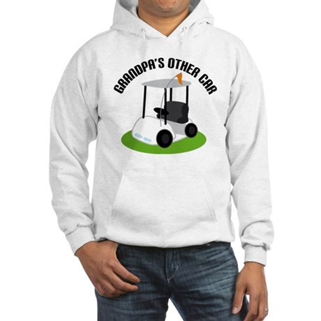 Grandpa Golf Cart Hooded Sweatshirt