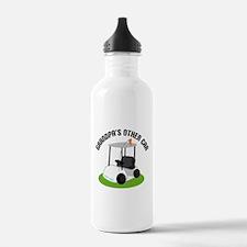 Grandpa Golf Cart Water Bottle