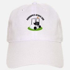 Grandpa Golf Cart Baseball Baseball Cap