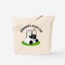 Grandpa Golf Cart Tote Bag