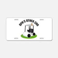 Opa Golf Cart Aluminum License Plate