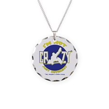 I'm Not Crazy (hockey) Necklace