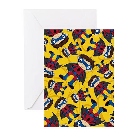 Masked Superhero Boy Pattern Cards (Pk of 10)
