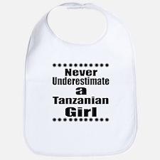 Never Underestimate A Tanzanian Gi Cotton Baby Bib