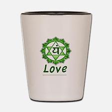 Yoga Love Shot Glass