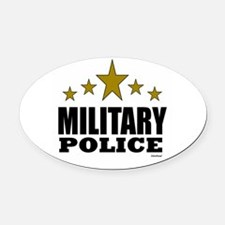 Military Police Oval Car Magnet