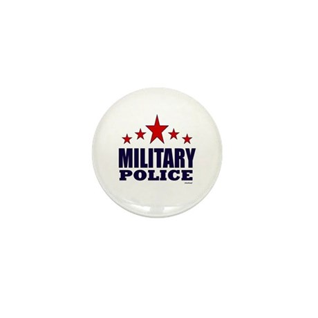 Military Police Mini Button (10 pack)