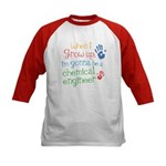 Future Chemical Engineer Kids Baseball Jersey