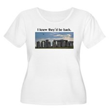 I Knew They'd Be Back Women's Plus Size Shirt