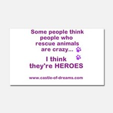 Rescue Heroes Car Magnet 20 x 12