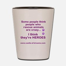 Rescue Heroes Shot Glass