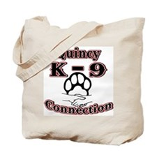 Quincy K-9 Connection Logo Tote Bag