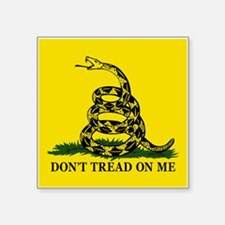 "Dont Tread On Me Square Sticker 3"" x 3"""