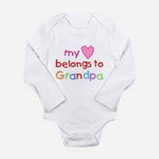 Funny Grandpa Long Sleeve Infant Bodysuit