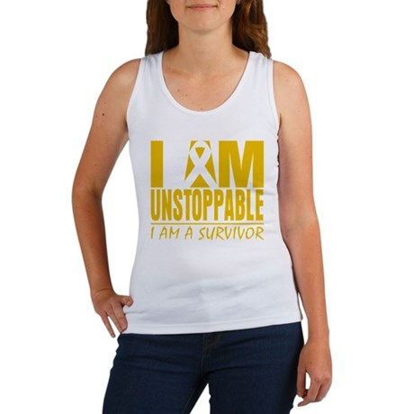 Unstoppable Appendix Cancer Women's Tank Top