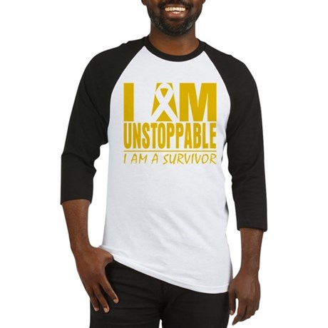 Unstoppable Appendix Cancer Baseball Jersey