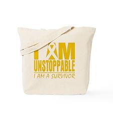 Unstoppable Appendix Cancer Tote Bag