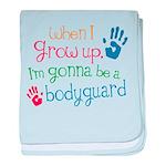 Future Bodyguard baby blanket