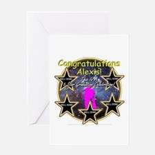 Grad Girls Alexis: 0002 Greeting Card