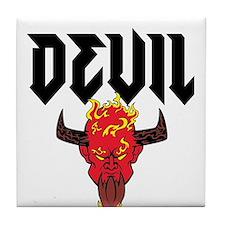 Devil Tile Coaster