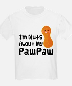Nuts About My PawPaw T-Shirt