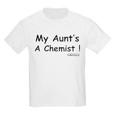 My Aunt's a Chemist Kids T-Shirt