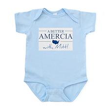 A Better Amercia with Mitt! Infant Bodysuit