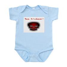 Non-Armani Infant Creeper