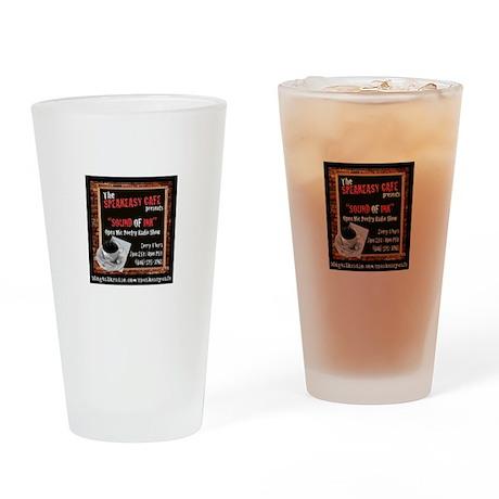 Speakeasy Drinking Glass
