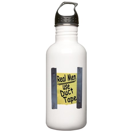 Real Men Use Duct Tape Stainless Water Bottle 1.0L